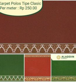 Harga Karpet Masjid Polos per Meter
