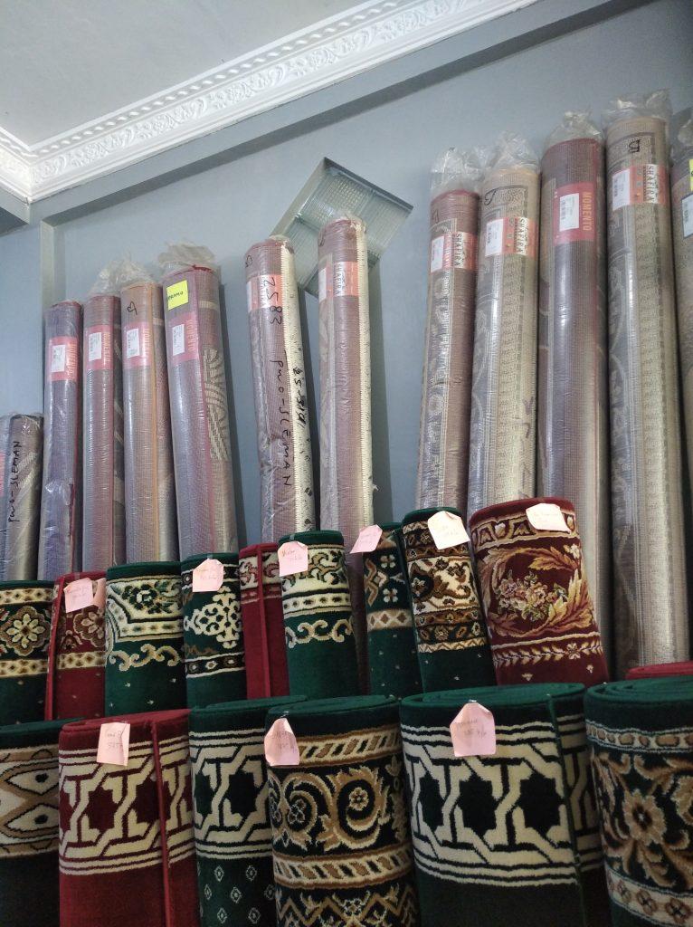 harga sajadah gulung masjid