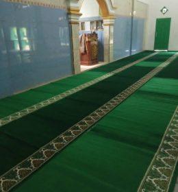 Harga Karpet Masjid Hijau Polos