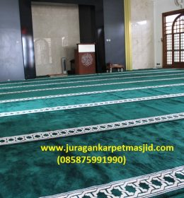 Sajadah Masjid Tebal